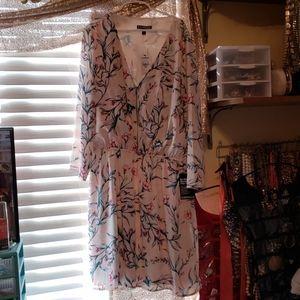Express 3/4 sleeve dress